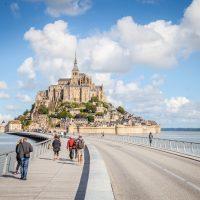 Le Mont St Michel aux grandes marées - Manche - Normandie © Sabina Lorkin @anibasphotography