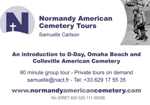 Discover the Normandy American Cemetery Tours with Samuelle Carlson